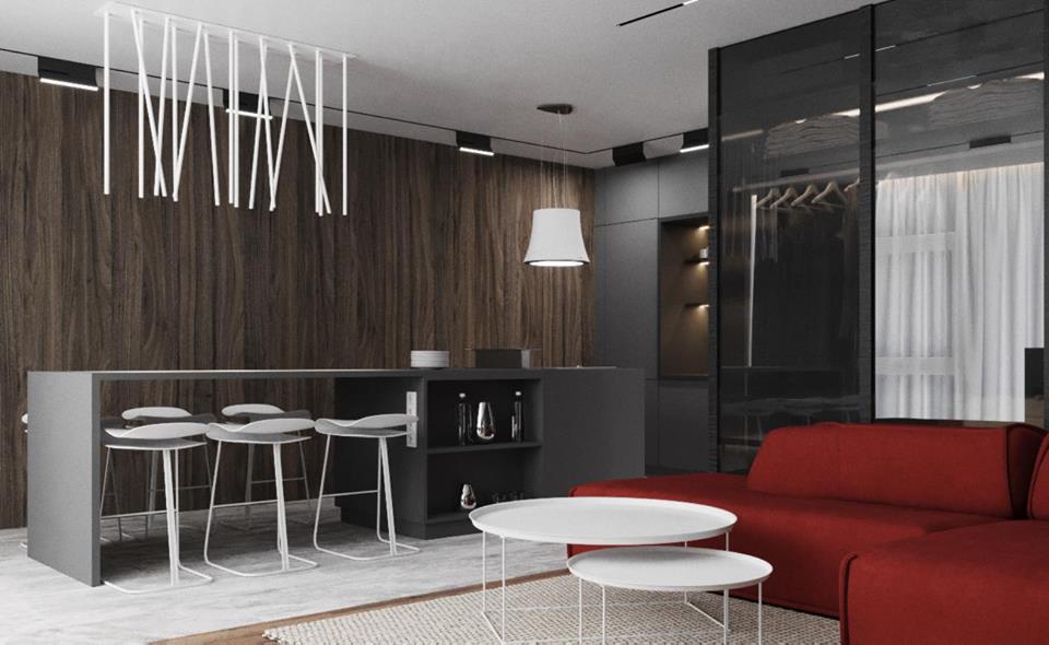 Проект Obsidian apartment