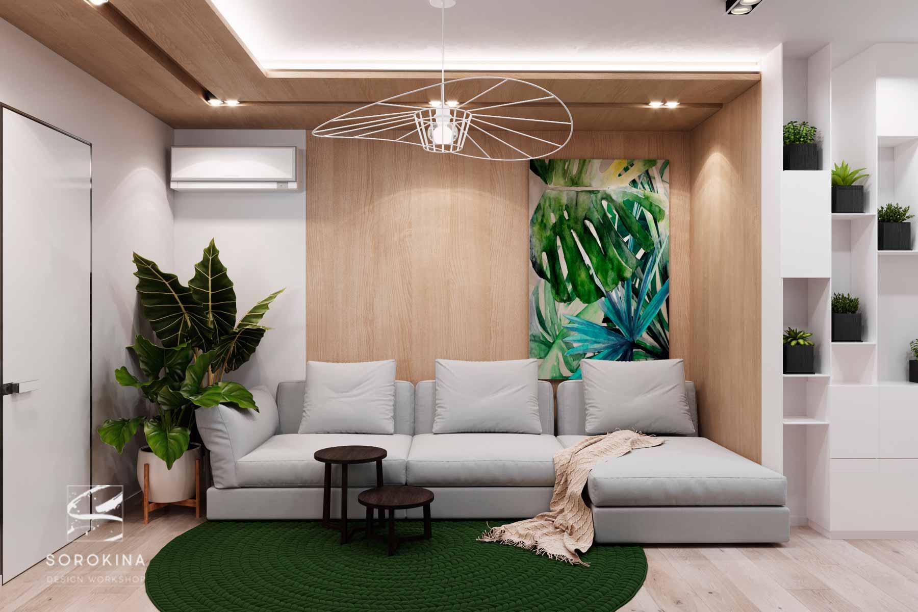дизайн-гостиной