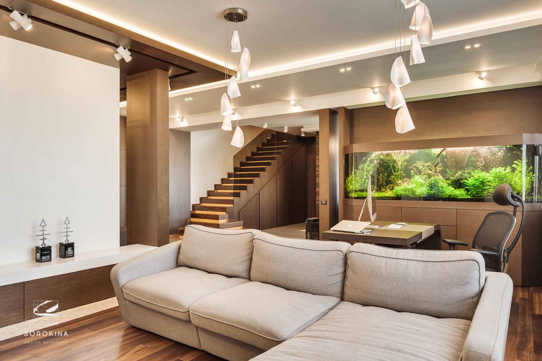 интерьер-гостиной-3-Amber-wood-apartment