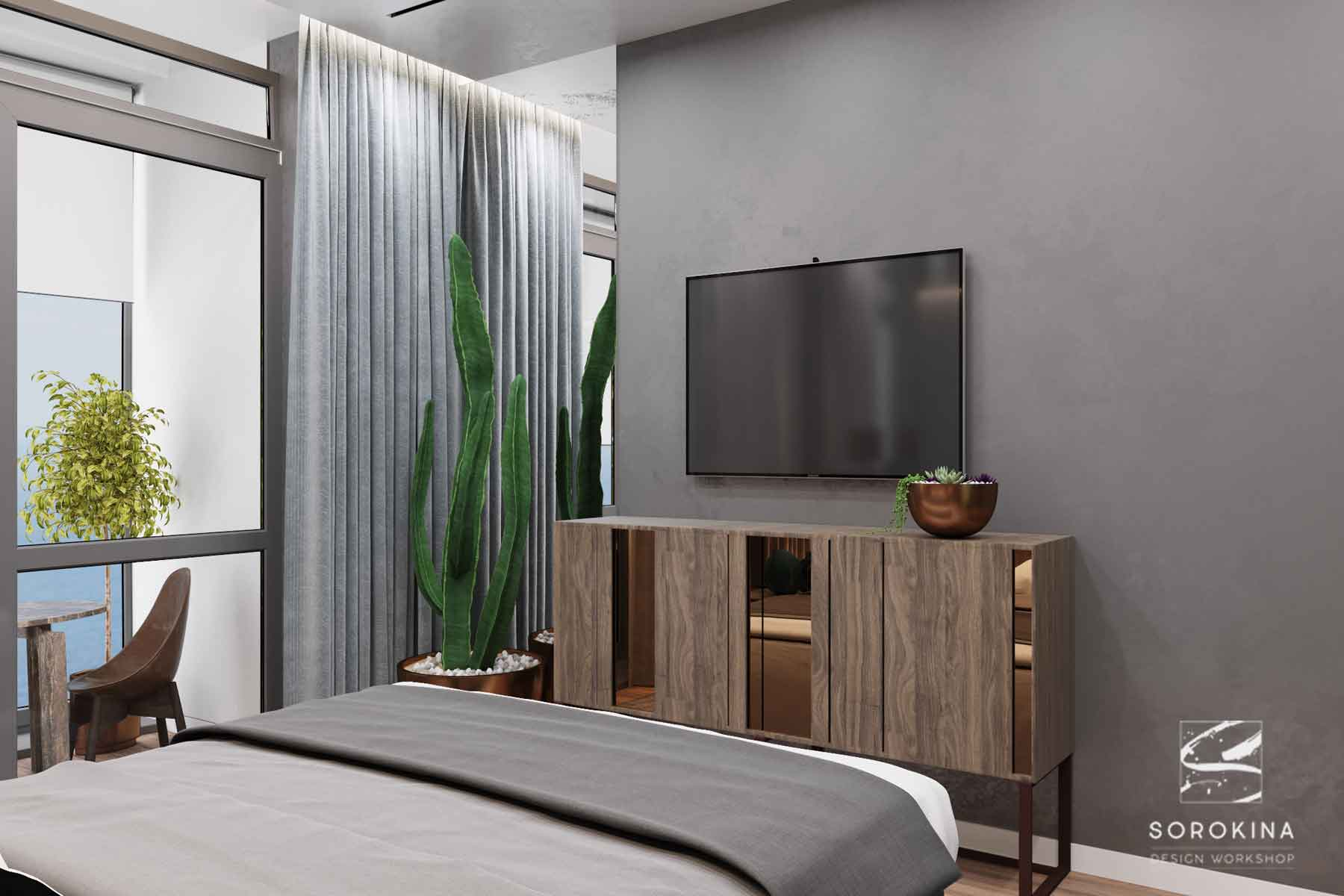 интерьер-спальни-1-Sea-view-apartment
