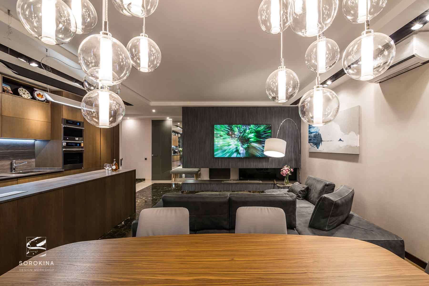 Дизайн-интерьера-гостиной-1-Night-Forest