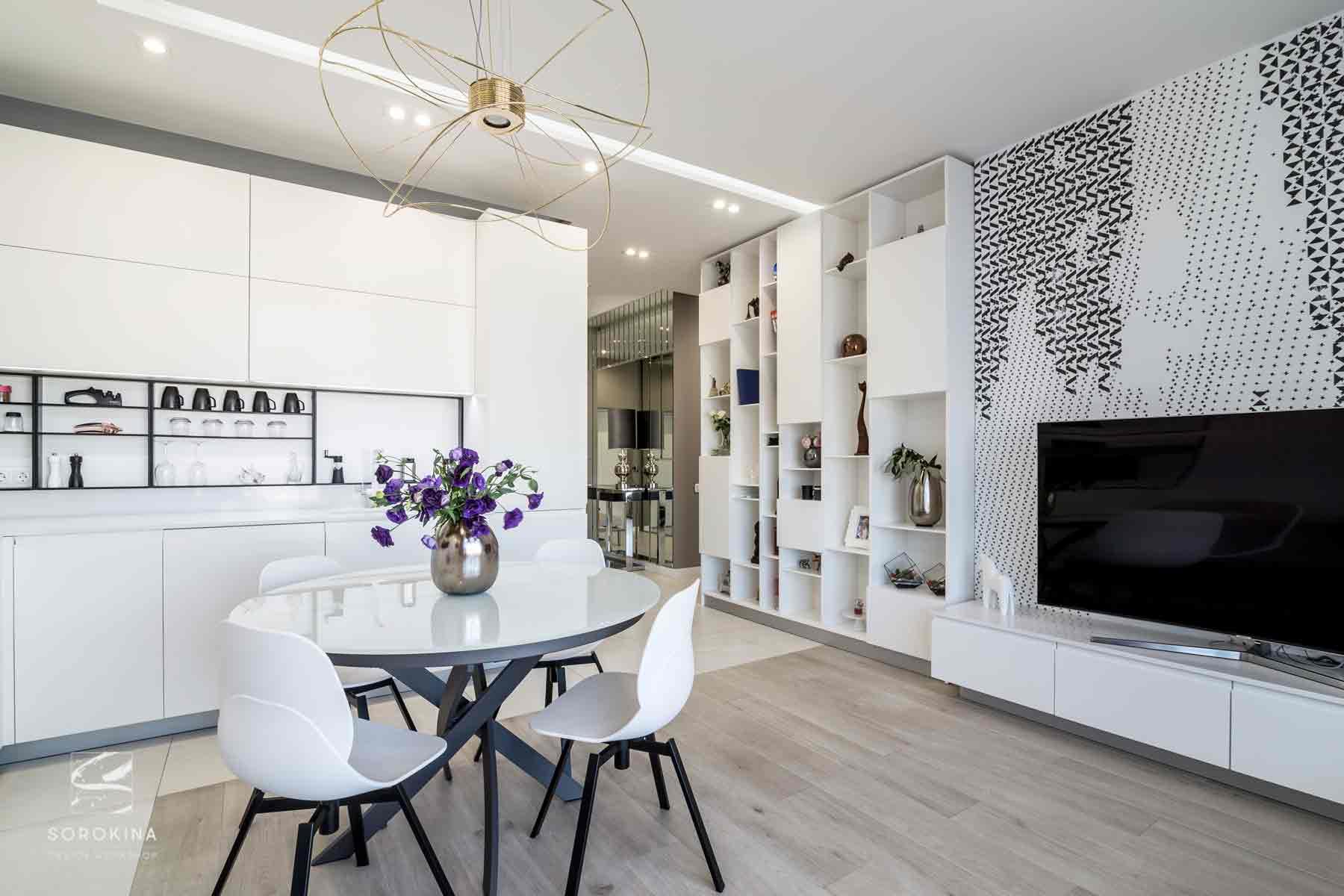 Дизайн-интерьера-кухни-Moonstone-ЖК-Ривер-стоун