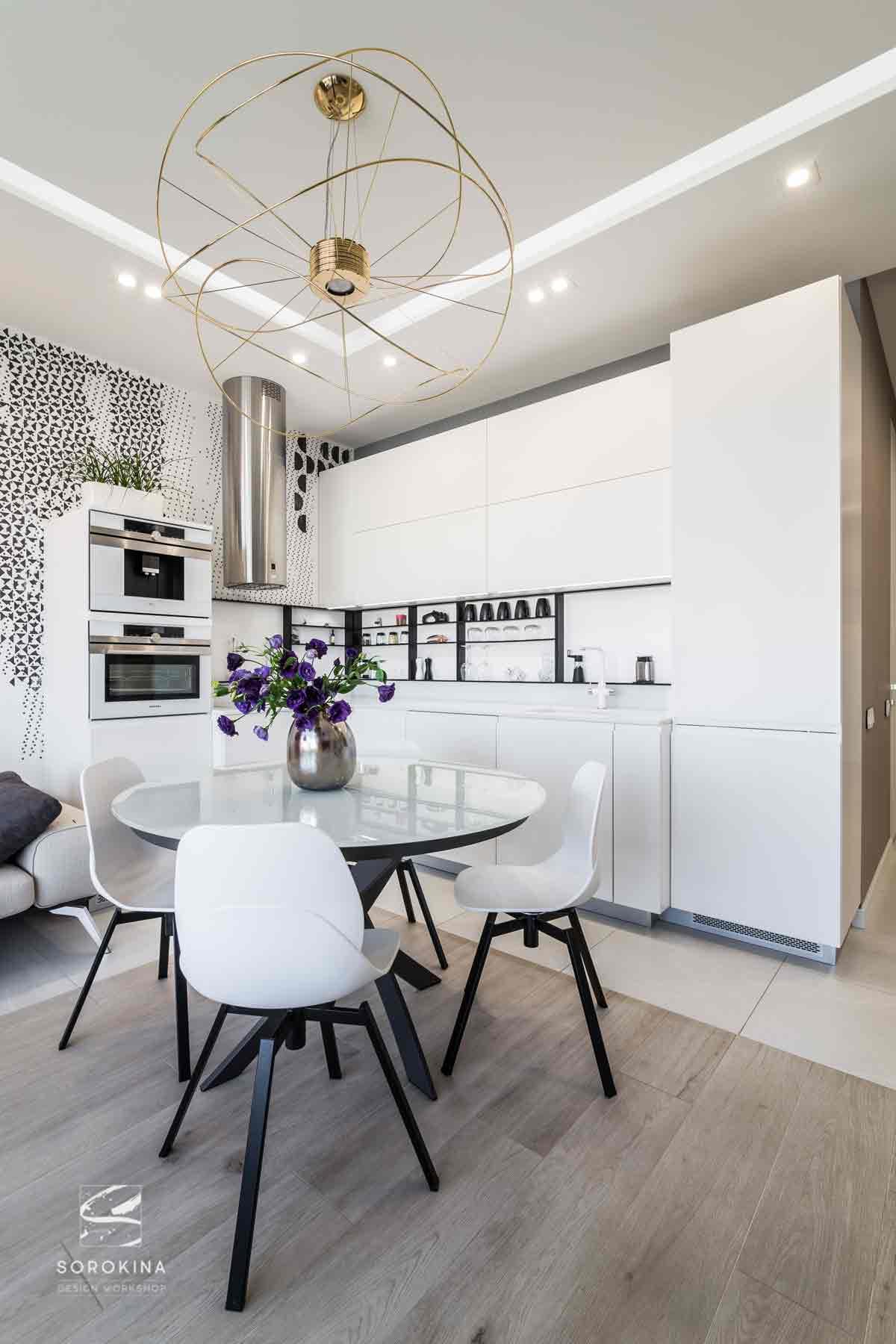 Дизайн-интерьера-столовой-2-Moonstone-ЖК-Ривер-стоун