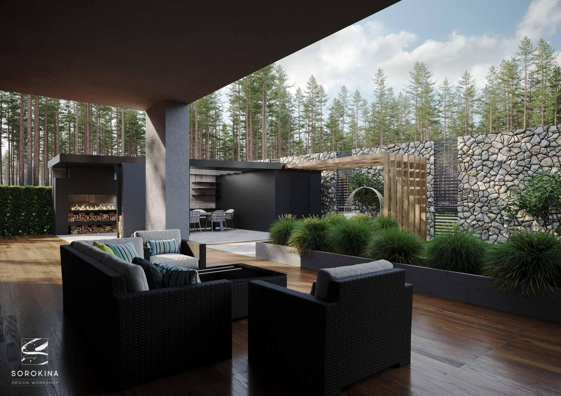 Дизайн дома в современном стиле